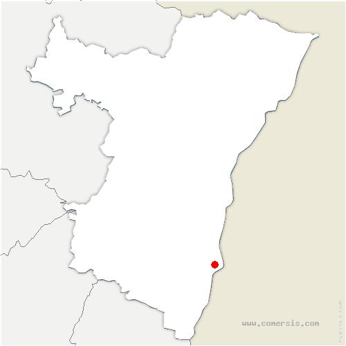 carte de localisation de Boofzheim