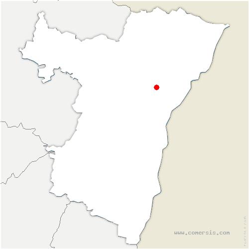 carte de localisation de Brumath