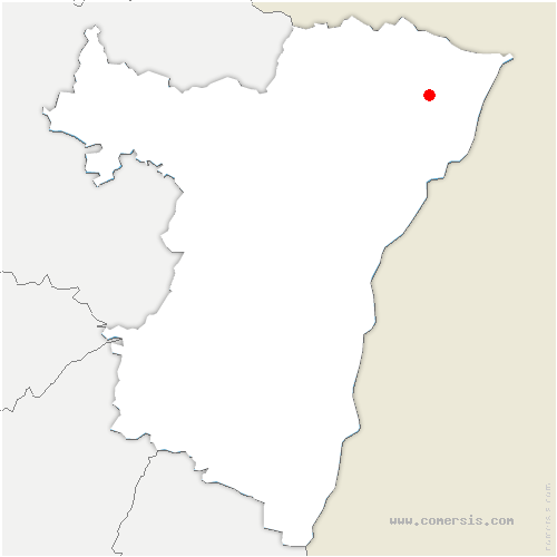 carte de localisation de Buhl