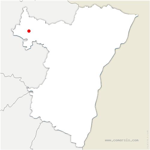 carte de localisation de Burbach