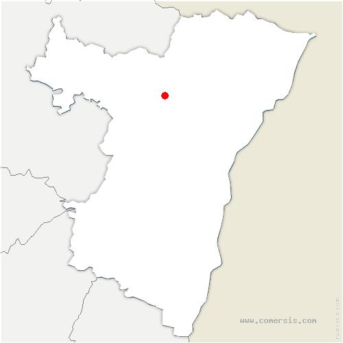 carte de localisation de Buswiller