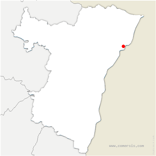 carte de localisation de Dalhunden