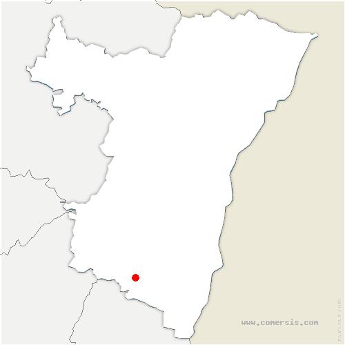 carte de localisation de Dambach-la-Ville