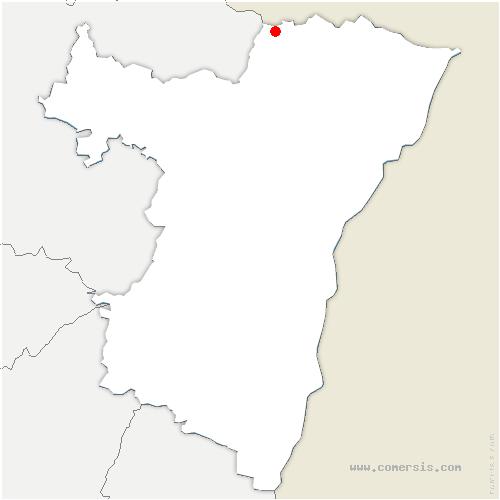 carte de localisation de Dambach