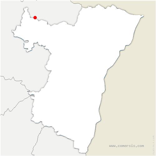 carte de localisation de Dehlingen