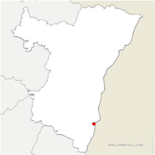carte de localisation de Diebolsheim