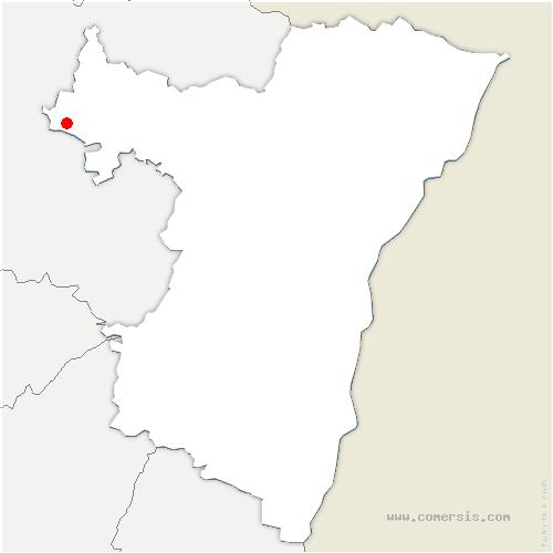 carte de localisation de Diedendorf