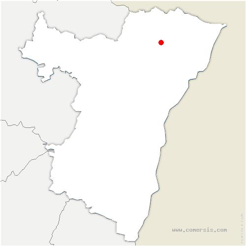 carte de localisation de Dieffenbach-lès-Wœrth