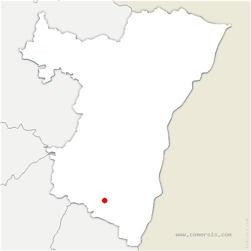 carte de localisation de Dieffenthal