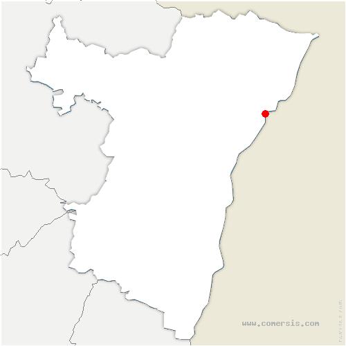 carte de localisation de Drusenheim