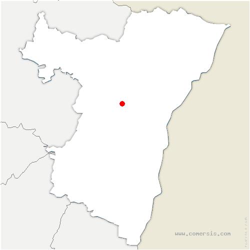 carte de localisation de Durningen