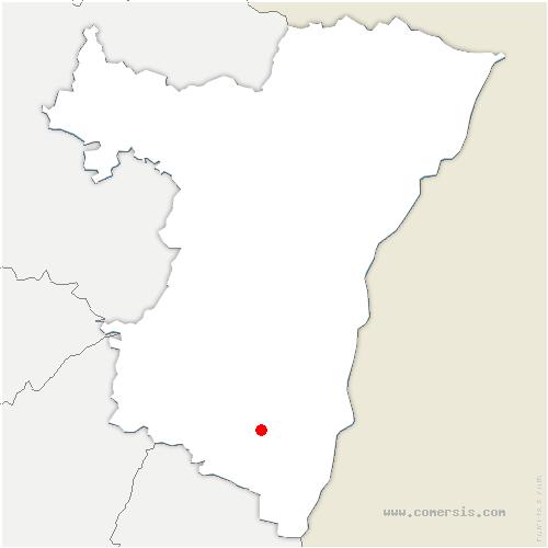 carte de localisation de Ebersheim