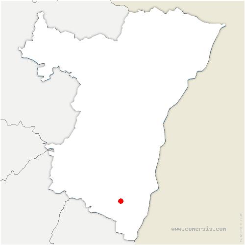 carte de localisation de Ebersmunster