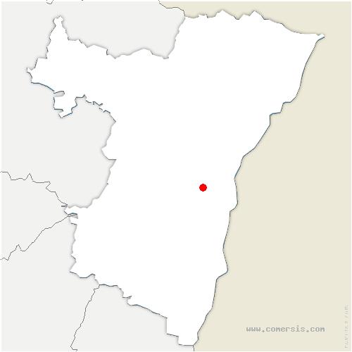 carte de localisation de Eckbolsheim