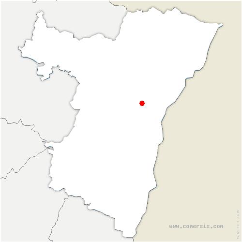 carte de localisation de Eckwersheim