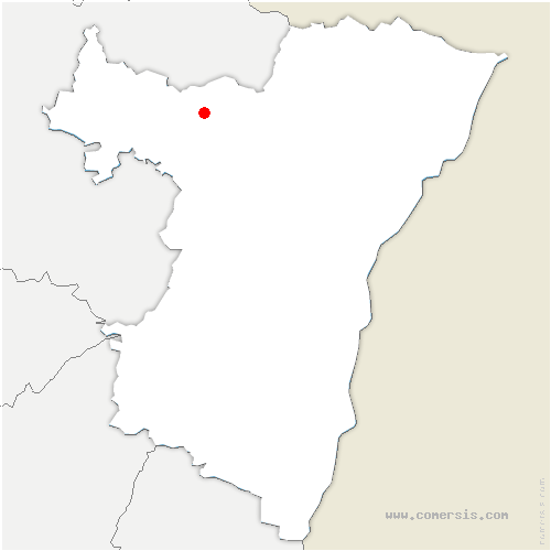 carte de localisation de Erckartswiller