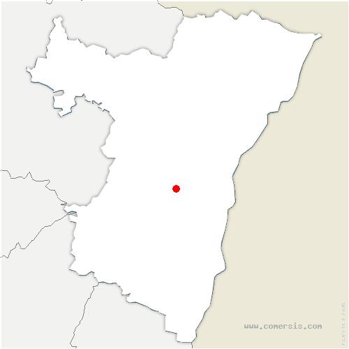carte de localisation de Ergersheim
