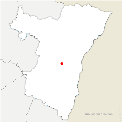 carte de localisation de Ernolsheim-Bruche
