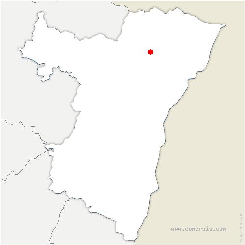 carte de localisation de Eschbach