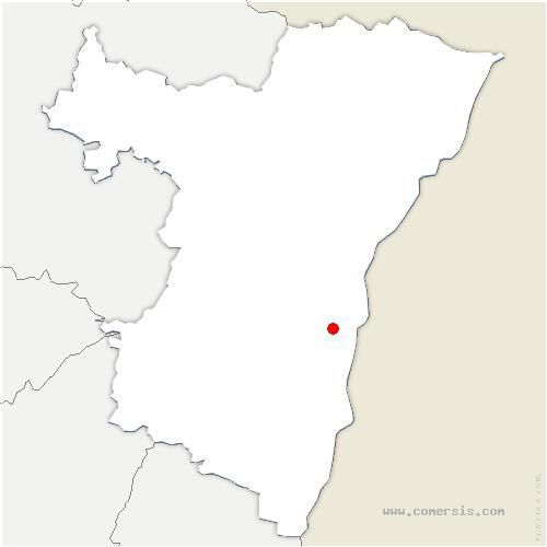 carte de localisation de Fegersheim