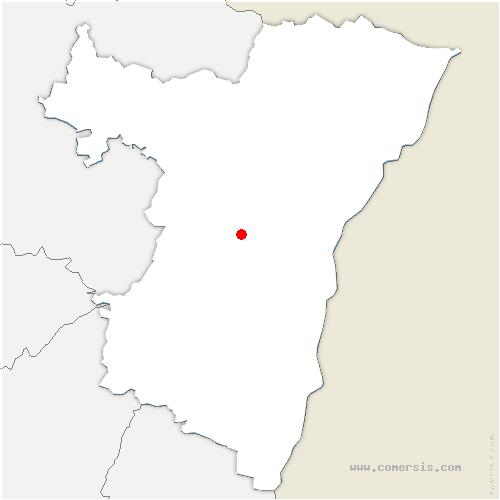 carte de localisation de Fessenheim-le-Bas