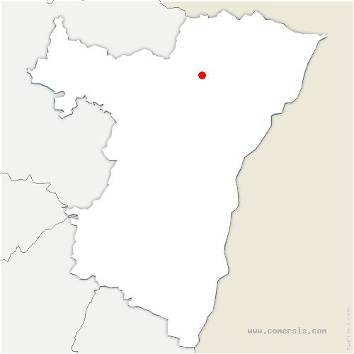 carte de localisation de Forstheim