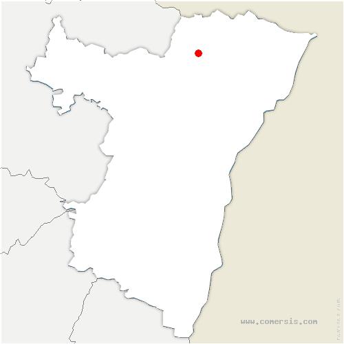 carte de localisation de Frœschwiller