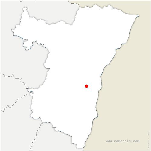 carte de localisation de Geispolsheim