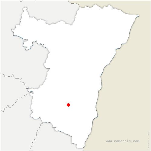 carte de localisation de Gertwiller