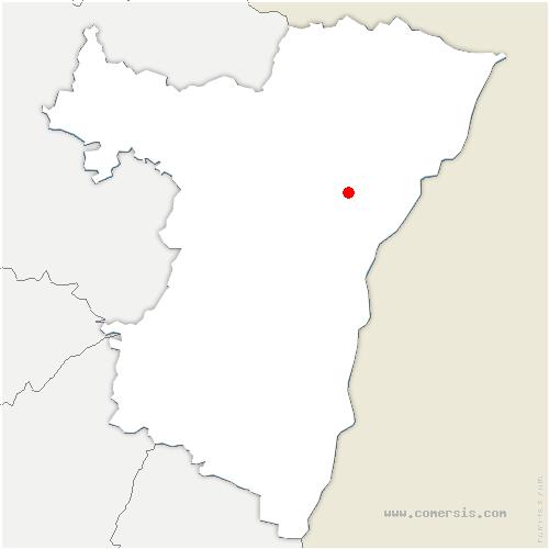 carte de localisation de Geudertheim