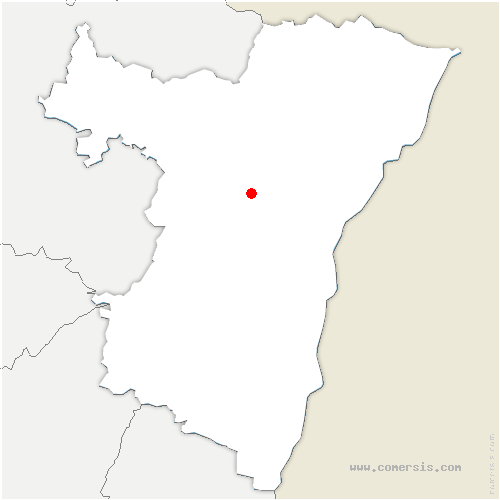 carte de localisation de Gingsheim