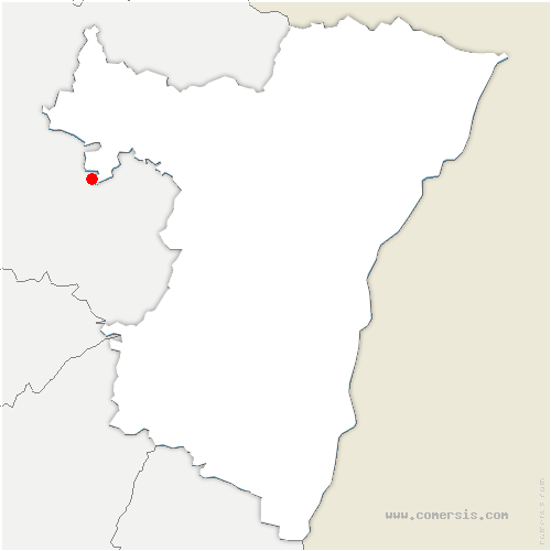 carte de localisation de Gœrlingen