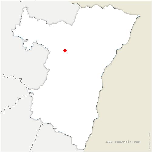 carte de localisation de Gottesheim