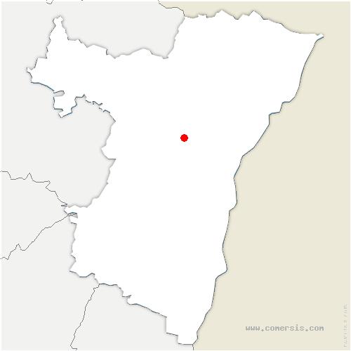 carte de localisation de Gougenheim