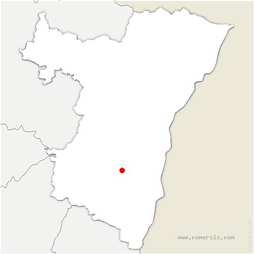 carte de localisation de Goxwiller