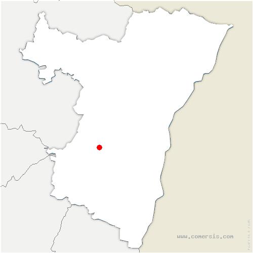 carte de localisation de Gresswiller