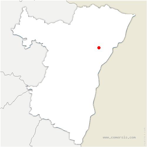 carte de localisation de Gries
