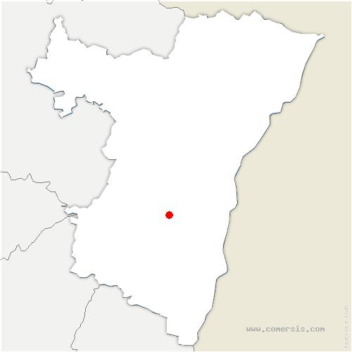 carte de localisation de Griesheim-près-Molsheim