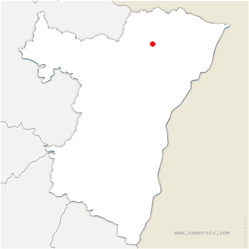 carte de localisation de Gunstett