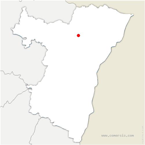carte de localisation de Haguenau