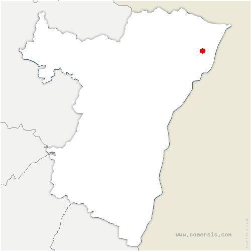 carte de localisation de Hatten
