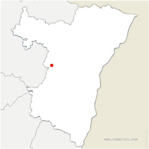 carte de localisation de Hengwiller