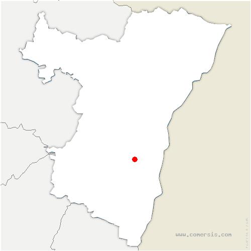 carte de localisation de Hindisheim