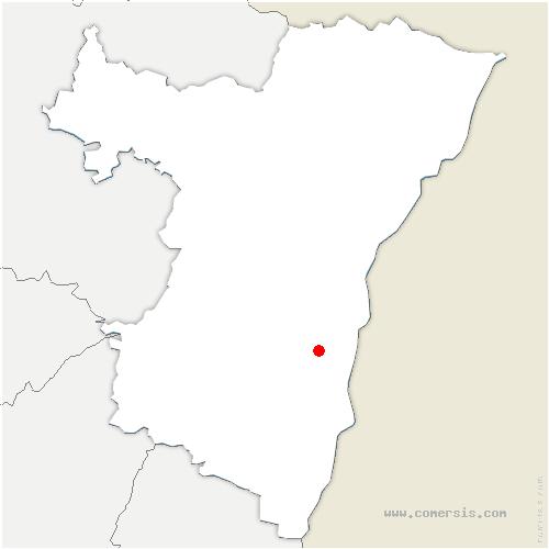 carte de localisation de Hipsheim