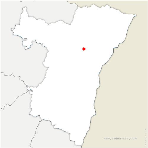 carte de localisation de Hochstett