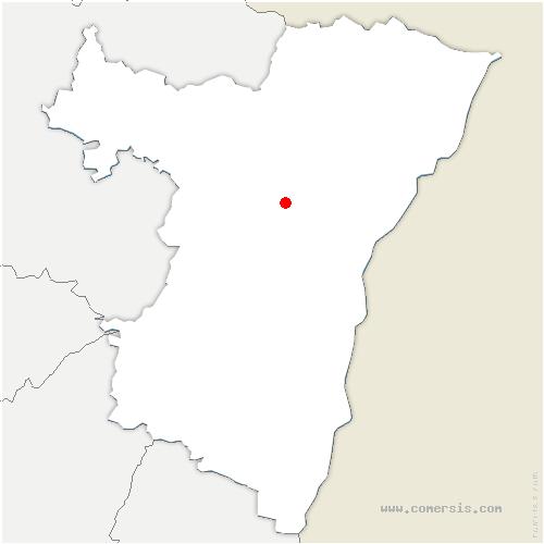 carte de localisation de Hohfrankenheim