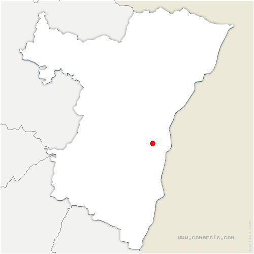 carte de localisation de Illkirch-Graffenstaden