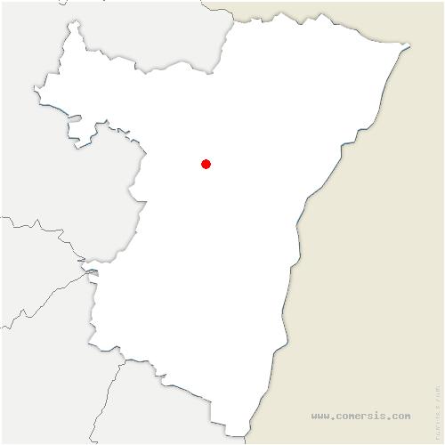 carte de localisation de Ingenheim