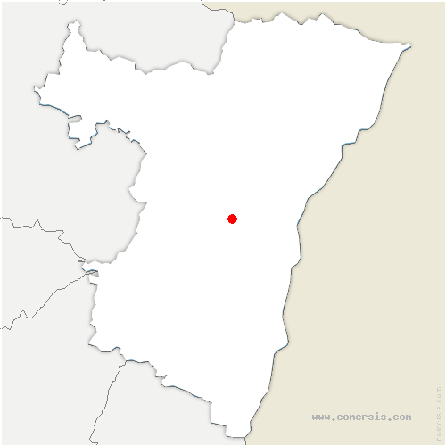 carte de localisation de Ittenheim
