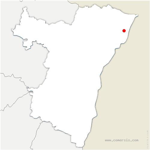 carte de localisation de Kesseldorf
